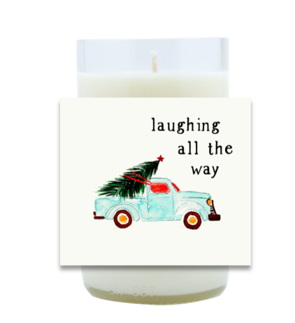 Laughing All The Way Hand Poured Soy Candle | Furbish & Fire Candle Co.