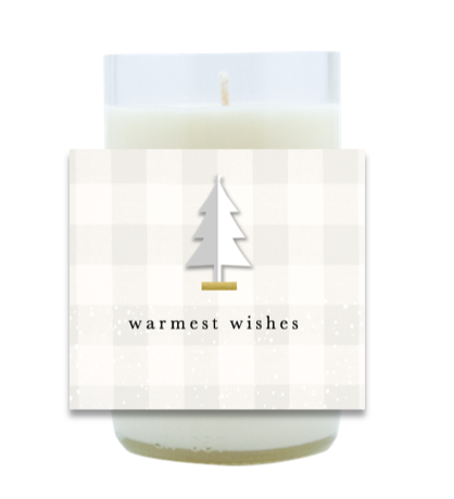 Soft Plaid Hand Poured Soy Candle | Furbish & Fire Candle Co.