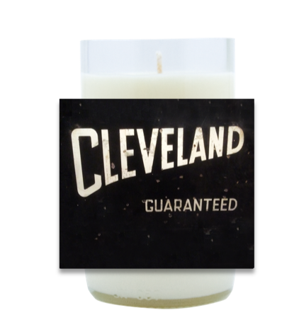 Cleveland Guaranteed Hand Poured Soy Candle | Furbish & Fire Candle Co.