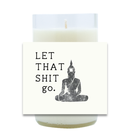 Let It Go Hand Poured Soy Candle | Furbish & Fire Candle Co.