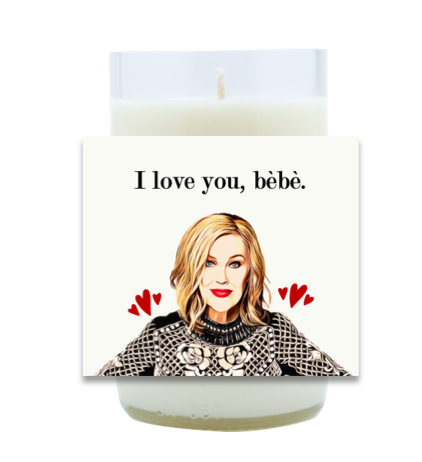 Moira Rose Hand Poured Soy Candle | Furbish & Fire Candle Co.