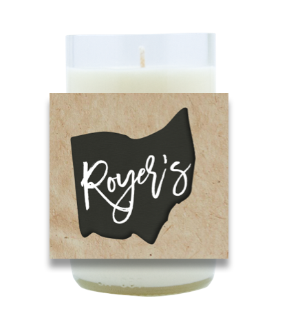 Ohio City Name Poured Soy Candle | Furbish & Fire Candle Co.
