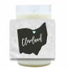 Ohio City Name Hand Poured Soy Candle | Furbish & Fire Candle Co.