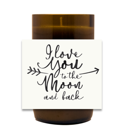 To the Moon and Back Hand Poured Soy Candle | Furbish & Fire Candle Co.