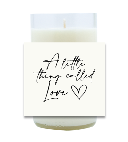 A Little Thing Called Love Hand Poured Soy Candle | Furbish & Fire Candle Co.