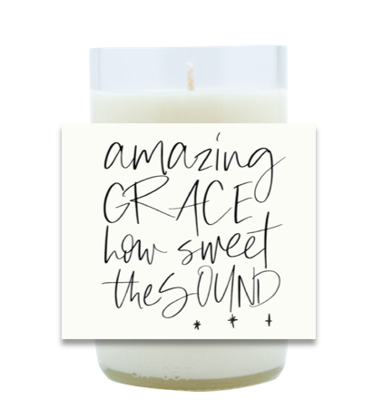 Amazing Grace Hand Poured Soy Candle | Furbish & Fire Candle Co.