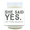 Bold Message Hand Poured Soy Candle | Furbish & Fire Candle Co.