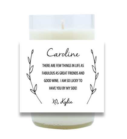 By My Side Hand Poured Soy Candle | Furbish & Fire Candle Co.