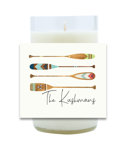 Four Oars Hand Poured Soy Candle | Furbish & Fire Candle Co.