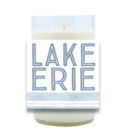 Lake Erie Hand Poured Soy Candle | Furbish & Fire Candle Co.