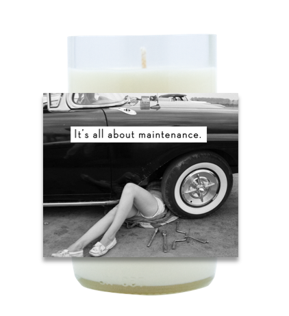Maintenance Hand Poured Soy Candle | Furbish & Fire Candle Co.