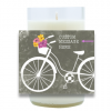 Summer Bicycle Hand Poured Soy Candle | Furbish & Fire Candle Co.