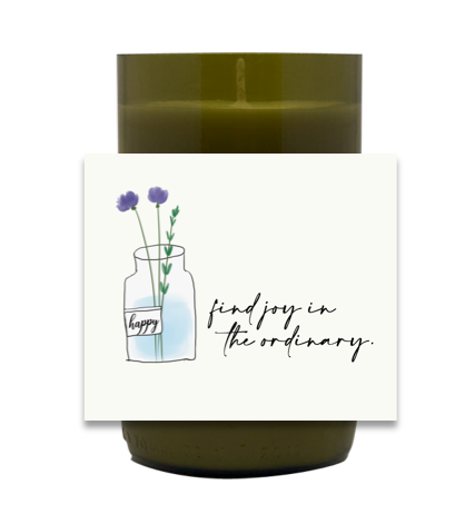 Spring Flowers Hand Poured Soy Candle | Furbish & Fire Candle Co.
