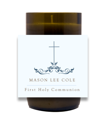 Flourish Communion Hand Poured Soy Candle | Furbish & Fire Candle Co.