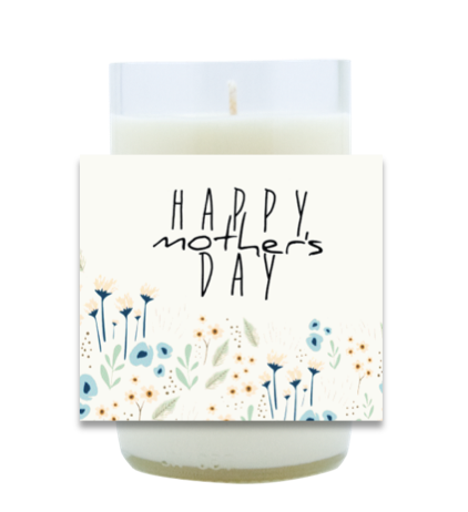 Happy Mother's Day Hand Poured Soy Candle | Furbish & Fire Candle Co.