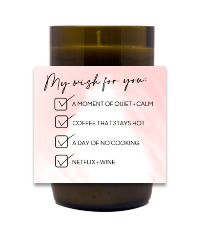 My Wish For You Hand Poured Soy Candle | Furbish & Fire Candle Co.
