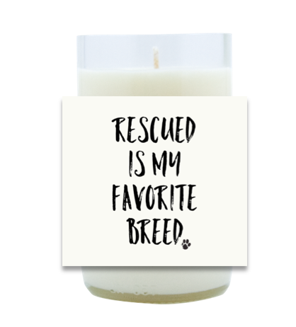 Rescued Hand Poured Soy Candle | Furbish & Fire Candle Co.