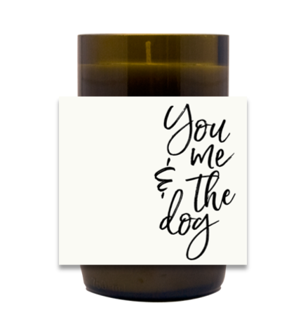 You, Me and the Dog-Cat Hand Poured Soy Candle | Furbish & Fire Candle Co.