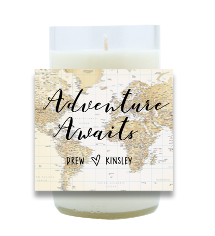 Adventure Awaits Hand Poured Soy Candle | Furbish & Fire Candle Co.
