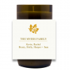Leaf Family Name Hand Poured Soy Candle | Furbish & Fire Candle Co.