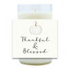 Autumn Thankful and Blessed Hand Poured Soy Candle   Furbish & Fire Candle Co.