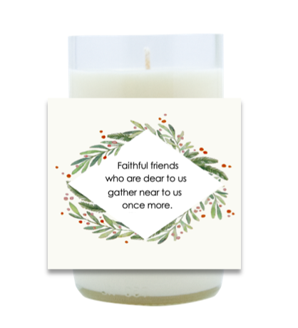 Faithful Friends Hand Poured Soy Candle | Furbish & Fire Candle Co.