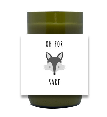 For Fox Sake Hand Poured Soy Candle | Furbish & Fire Candle Co.