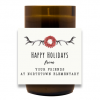Holidays From Us Hand Poured Soy Candle   Furbish & Fire Candle Co.