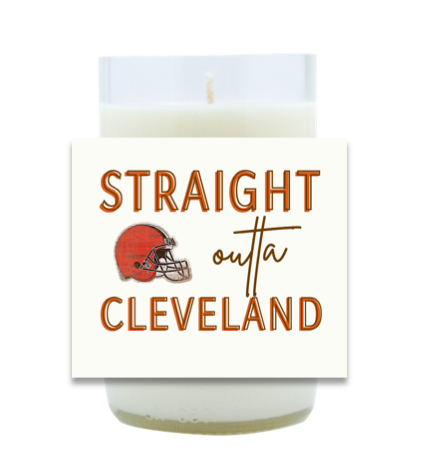 Straight Outta Hand Poured Soy Candle | Furbish & Fire Candle Co.