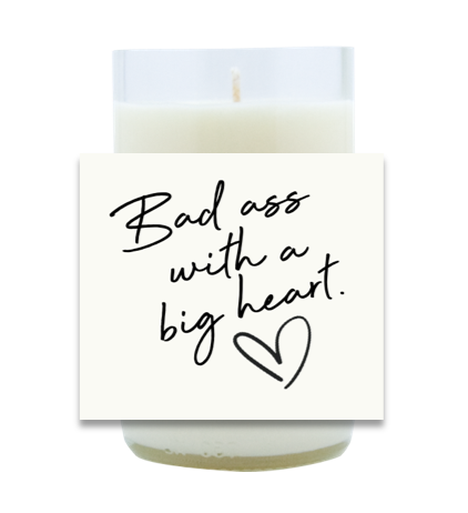 Badass Hand Poured Soy Candle | Furbish & Fire Candle Co.