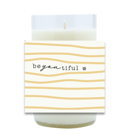 Be-YOU-tiful Hand Poured Soy Candle | Furbish & Fire Candle Co.