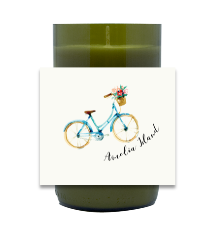Bike Around Town Hand Poured Soy Candle | Furbish & Fire Candle Co.