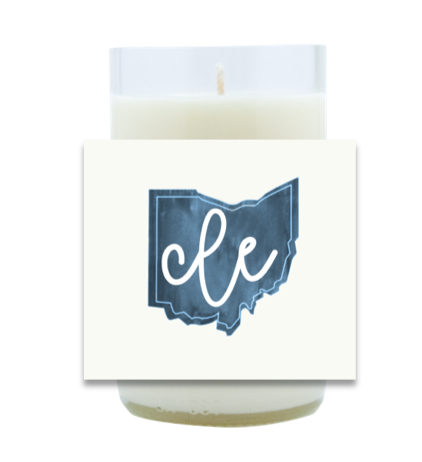 Blue State Pride Hand Poured Soy Candle | Furbish & Fire Candle Co.