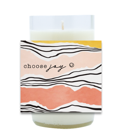 Choose Joy Hand Poured Soy Candle | Furbish & Fire Candle Co.