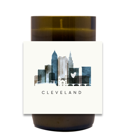 City Skyline Hand Poured Soy Candle | Furbish & Fire Candle Co.