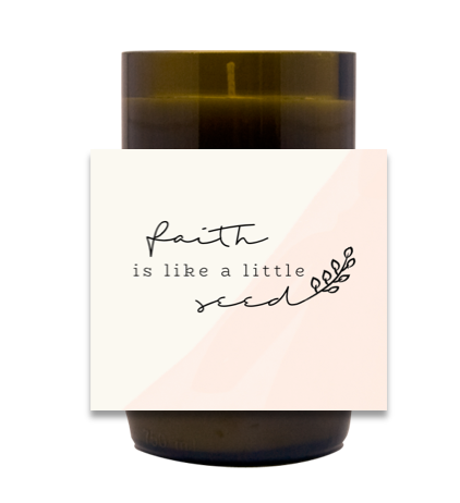 Faith Hand Poured Soy Candle | Furbish & Fire Candle Co.