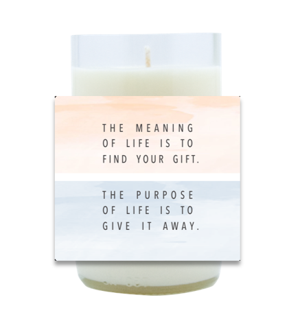Find Your Gift Hand Poured Soy Candle | Furbish & Fire Candle Co.