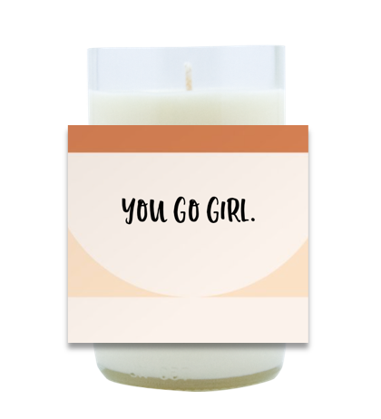 Girl Power Hand Poured Soy Candle | Furbish & Fire Candle Co.
