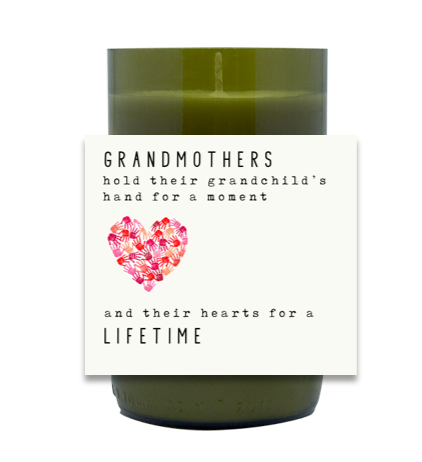 Grandmother Hand Poured Soy Candle | Furbish & Fire Candle Co.