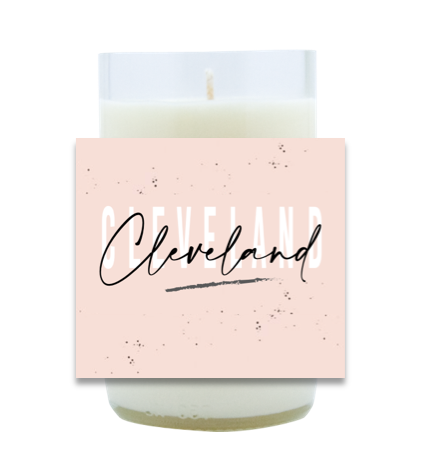 Graphic City Hand Poured Soy Candle | Furbish & Fire Candle Co.