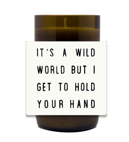 Wild World Hand Poured Soy Candle | Furbish & Fire Candle Co.