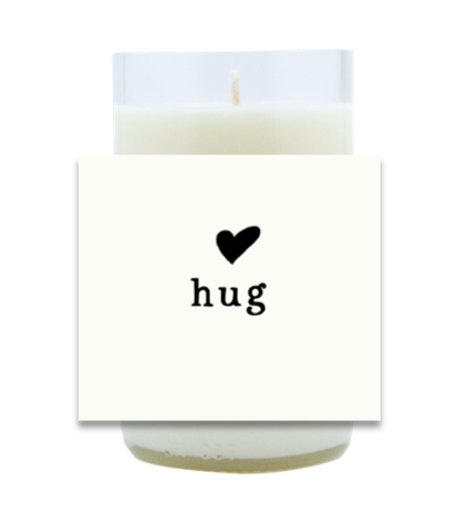 Hug Hand Poured Soy Candle | Furbish & Fire Candle Co.