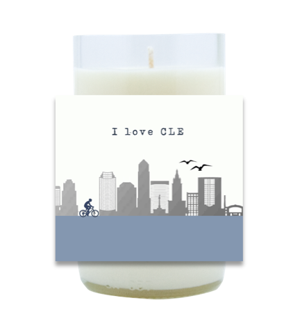 I Love My City Hand Poured Soy Candle | Furbish & Fire Candle Co.