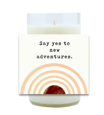 Say Yes Hand Poured Soy Candle | Furbish & Fire Candle Co.