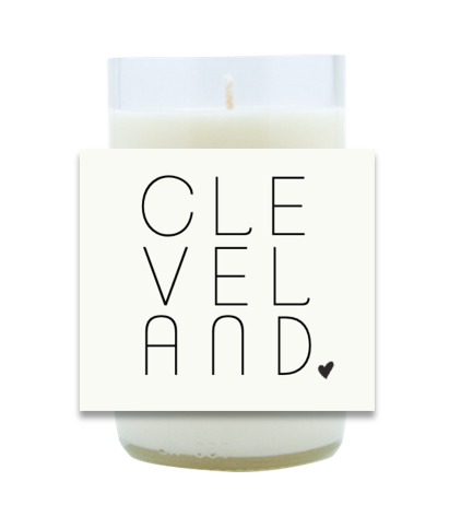 Simple City Hand Poured Soy Candle | Furbish & Fire Candle Co.
