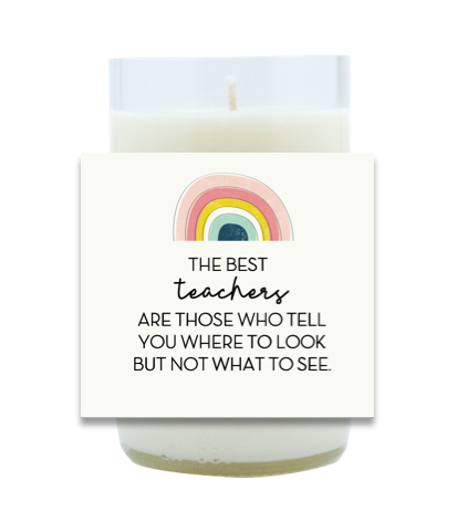 The Best Teachers Hand Poured Soy Candle | Furbish & Fire Candle Co.