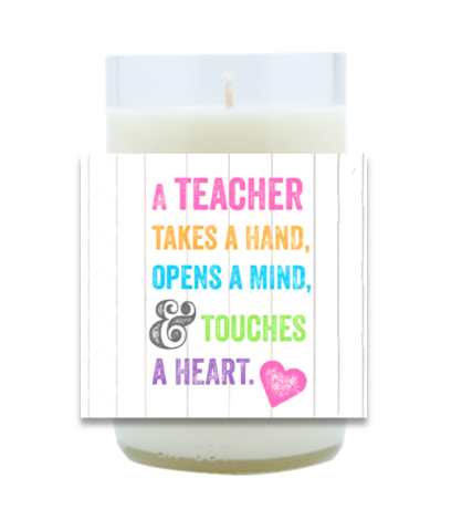 Touches a Heart Hand Poured Soy Candle | Furbish & Fire Candle Co.