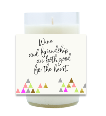 Wine and Friendship Hand Poured Soy Candle | Furbish & Fire Candle Co.