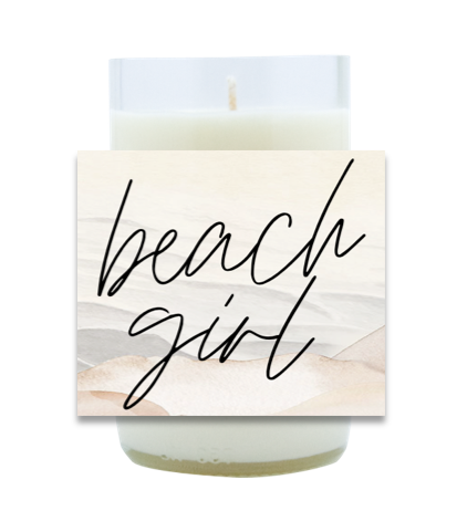 Beach Girl Hand-Poured Soy Candle | Furbish & Fire Candle Co.