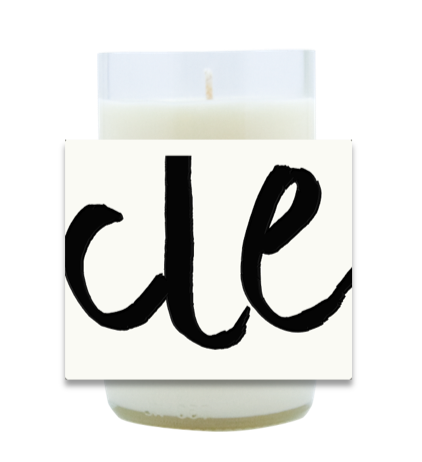 City Abbreviation Hand Poured Soy Candle | Furbish & Fire Candle Co.